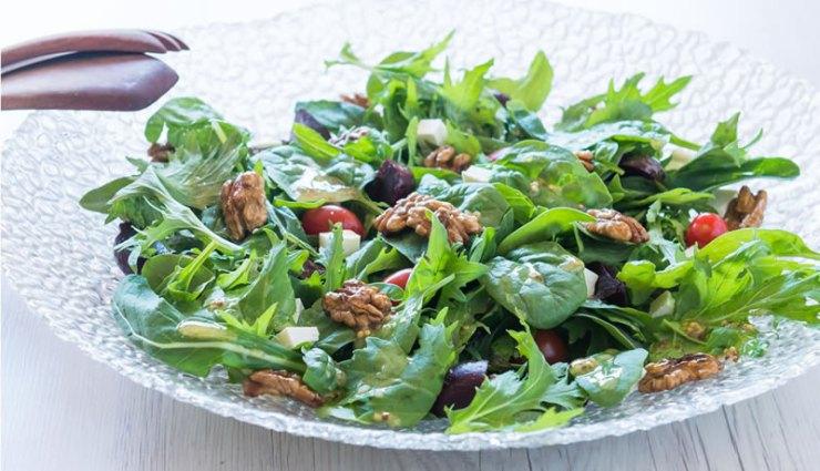 Caramelised Walnut and Beetroot Salad