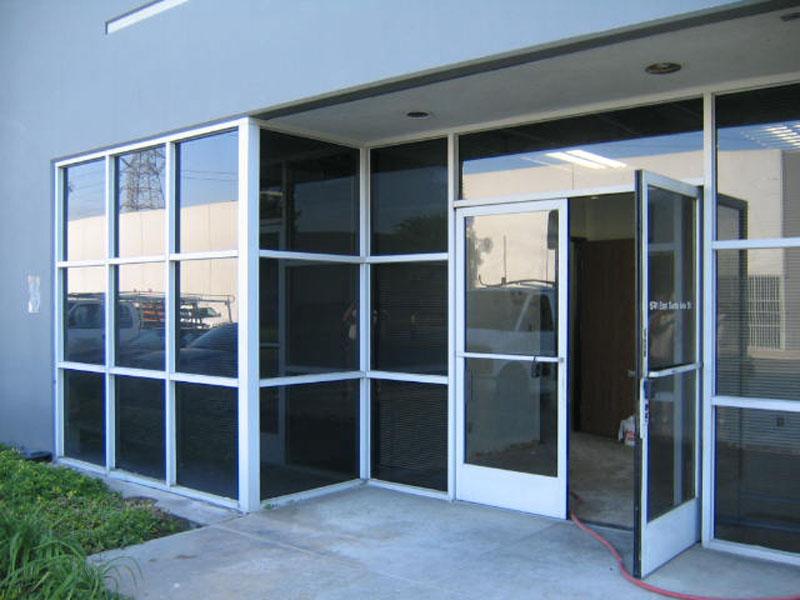Los Angeles Commercial Glass  Orange County San Bernardino