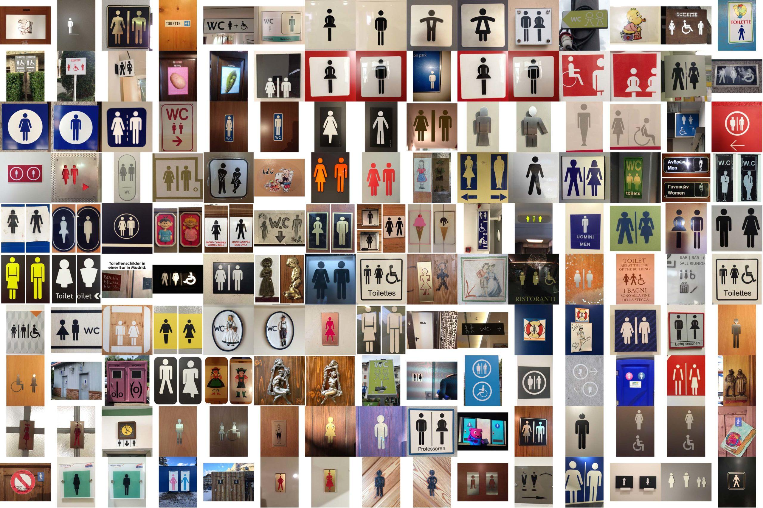 Il mio Instagram dedicato alle figure dei bagni