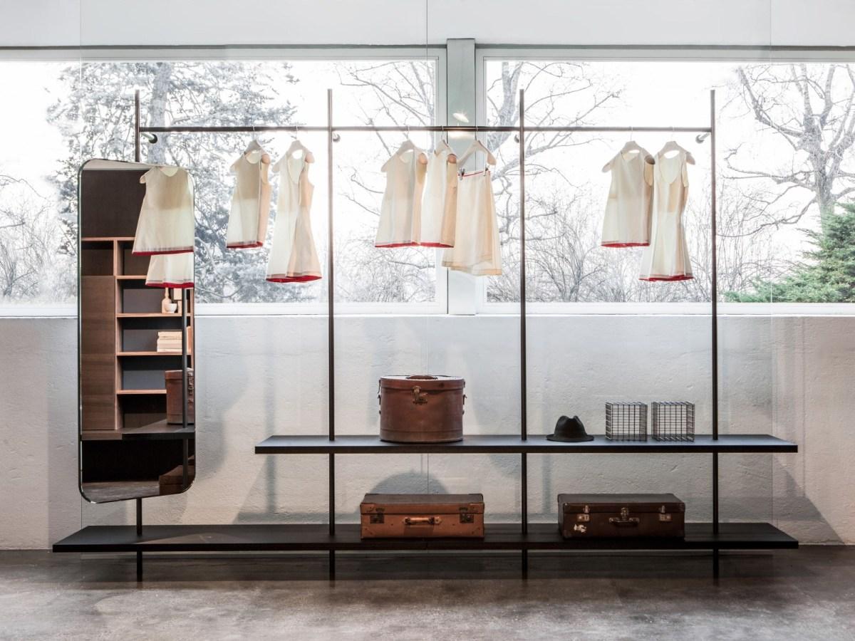 garderobe mit spiegel boutique mast von porro