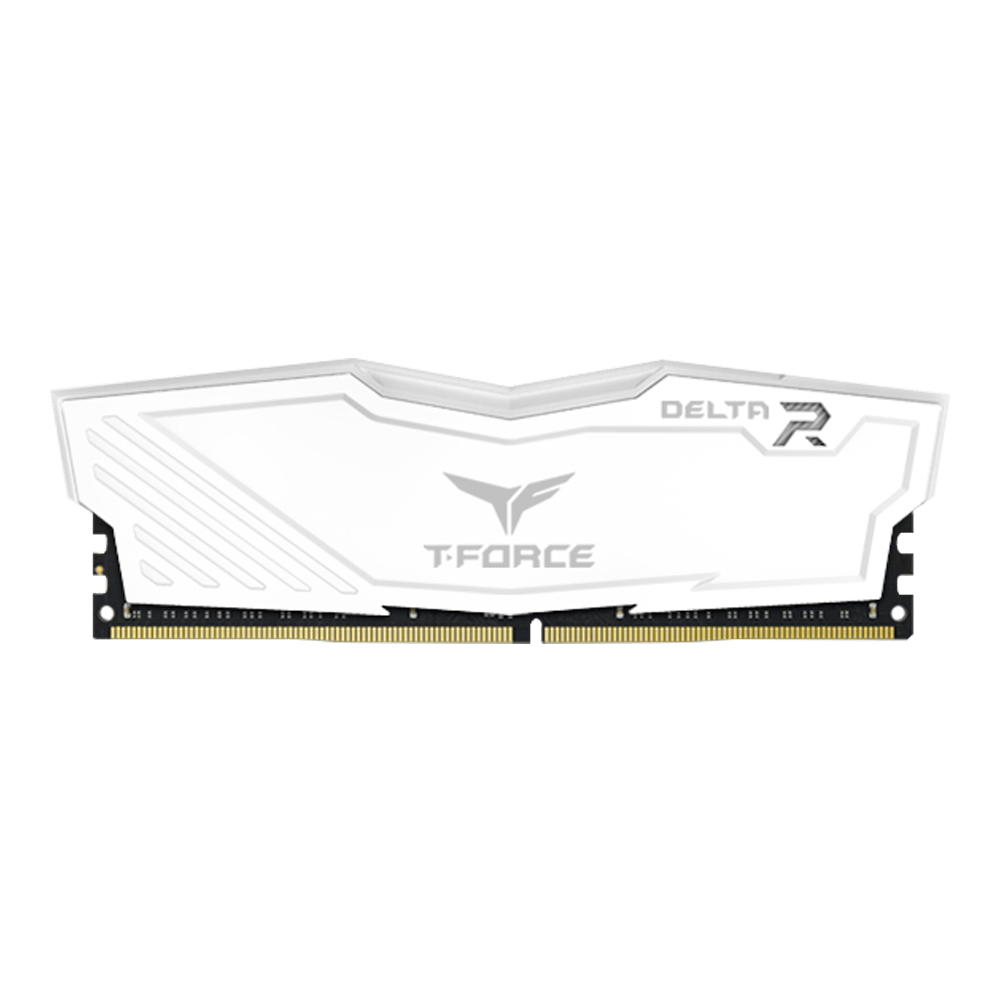 T-FORCE DELTA RGB 16GBx2 3200Mhz DDR4 GAMING MEMORY WHITE