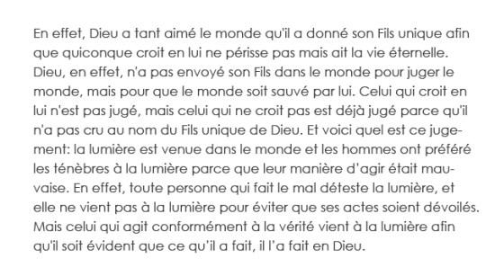 Franse tekst