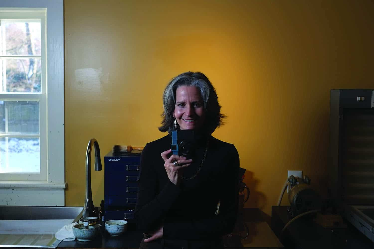 Diana Bloomfield in her Raleigh studio.