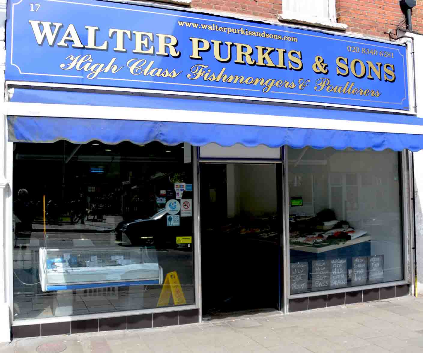 Walter Purkis Crouch End Fishmonger