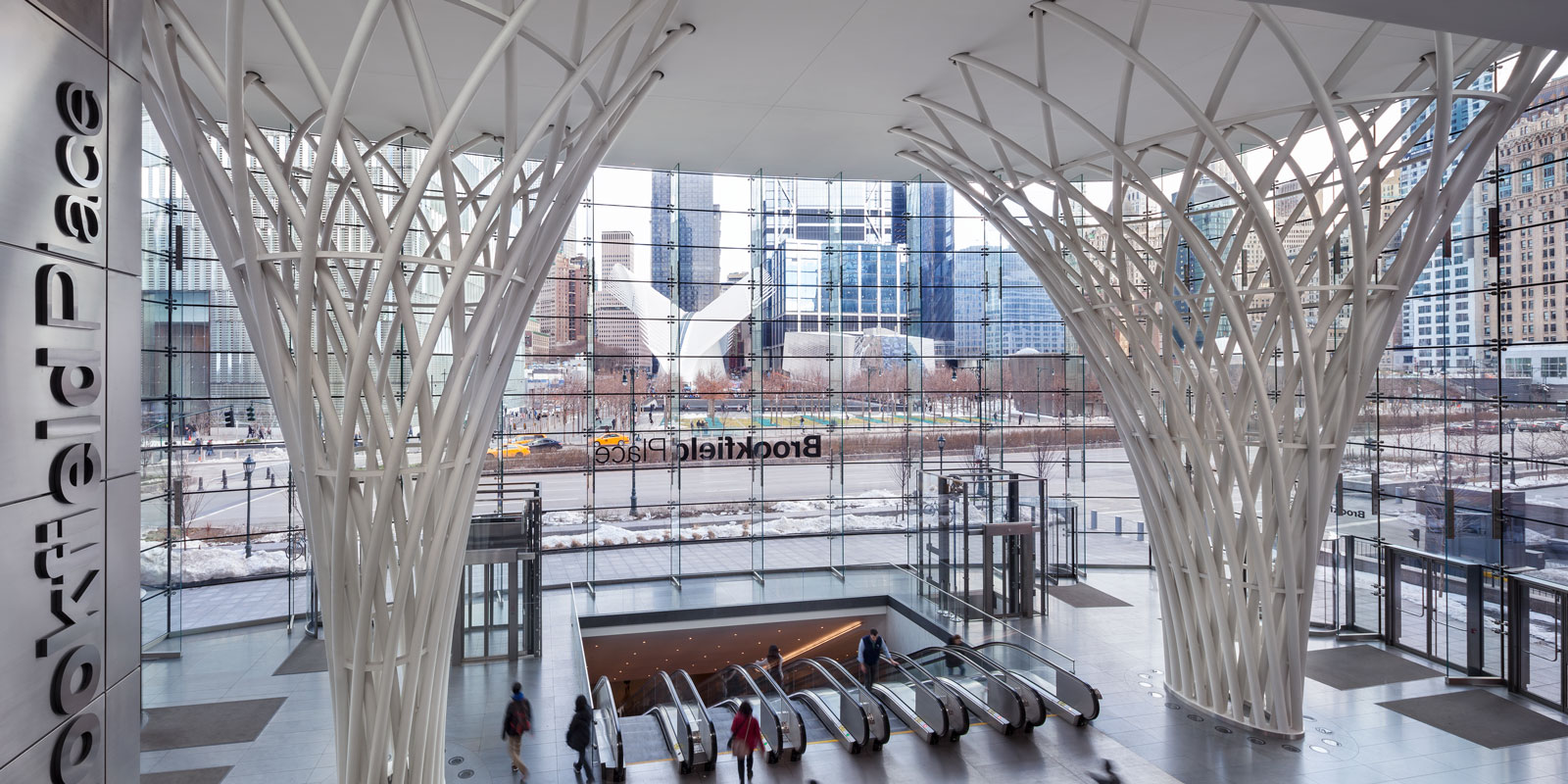 brookfield place entry pavilion walters group inc