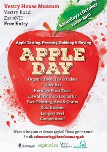 Apple Day @ Vestry House Museum