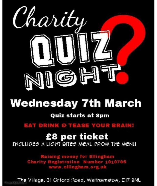 Charity Quiz Night - Village Pub @ Village Pub | England | United Kingdom
