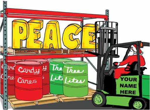 510 Forklift Lifting Peace