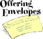 Offering Envelope @ Walton United Church, Oakville, Ontario