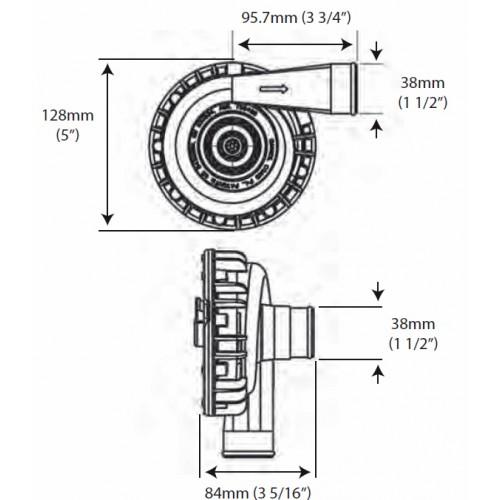 Davies Craig EWP115 alloy pump & LCD controller combo