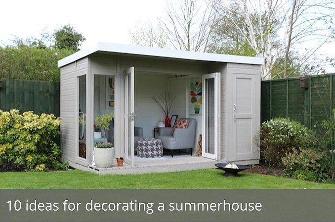 10 Ideas For Decorating A Summerhouse Waltons Blog Waltons Sheds