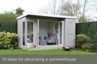 10 ideas for decorating a summerhouse | Waltons Blog ...