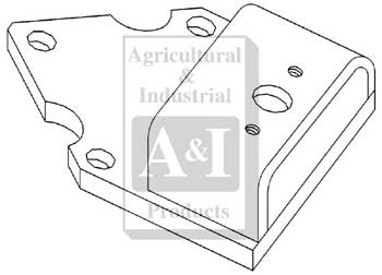 UW60807 Front Drawbar Support---Replaces 163582A