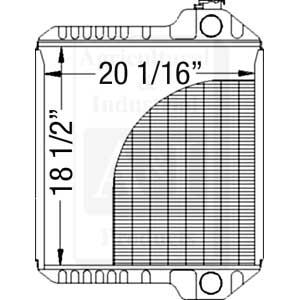 UCA20026 Radiator---Replaces 239739A2