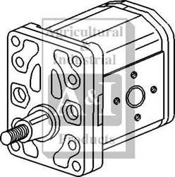 Oliver/White Hydraulic Pump---2017