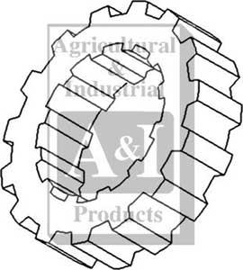 UA61478 Splined Collar, Transmission Mainshaft---Replaces