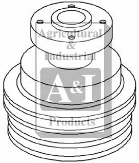 Water Pump Pulley---2014