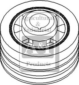 AC Crankshaft Pulley---2017