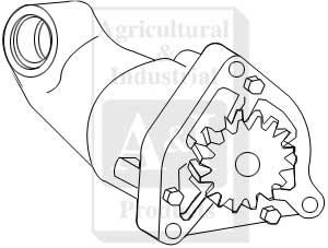 UF17936 Oil Pump---Replaces 81868537