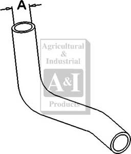NH21837 Lower Hose---Replaces 86519855