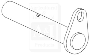 Axle Support Pivot Pin