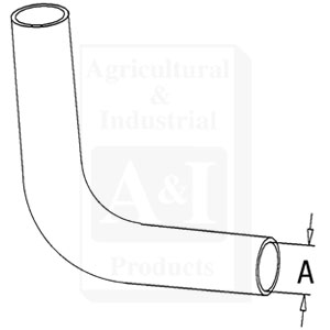 UF20980 Upper Radiator Hose--Replaces D8NN8260BB