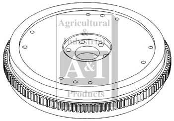 UF19061 Flywheel-New---13 inch---Replaces F1NN6375AA