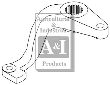 UCA00900 Steering Arm-Left--Replaces A137741, A37927