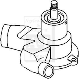 Case Water Pump