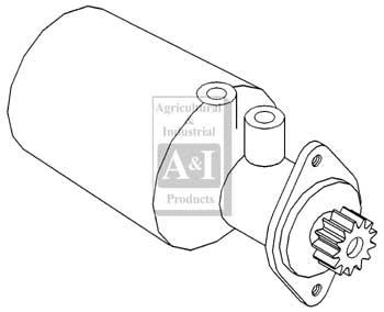 UM00050 Power Steering Pump---Replaces 523090M91