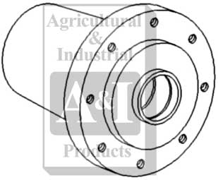 UW00105 Front Wheel Hub--- Replaces 72160484