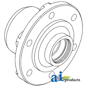 UF01612 Front Wheel Hub---Replaces 5166086