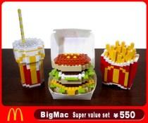 Lego version Mac food