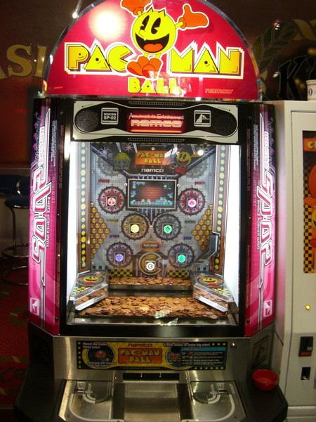 Pac Man Ball amusement arcade game bridlington yorkshire