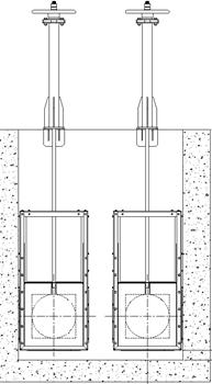 Sluices and Penstocks: Sluice Gates