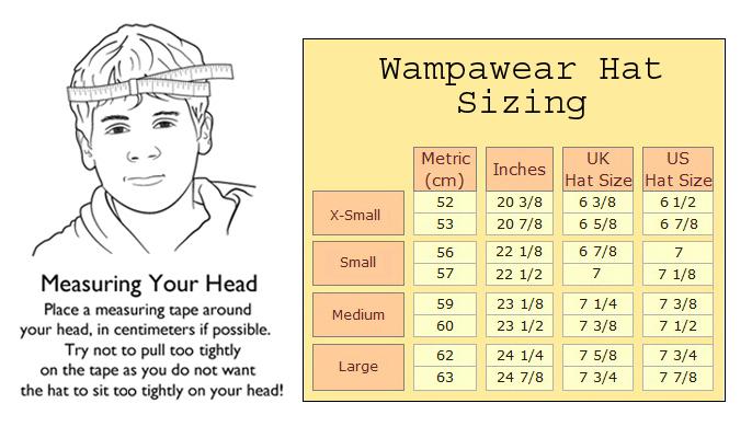 Sizing – Wampawear