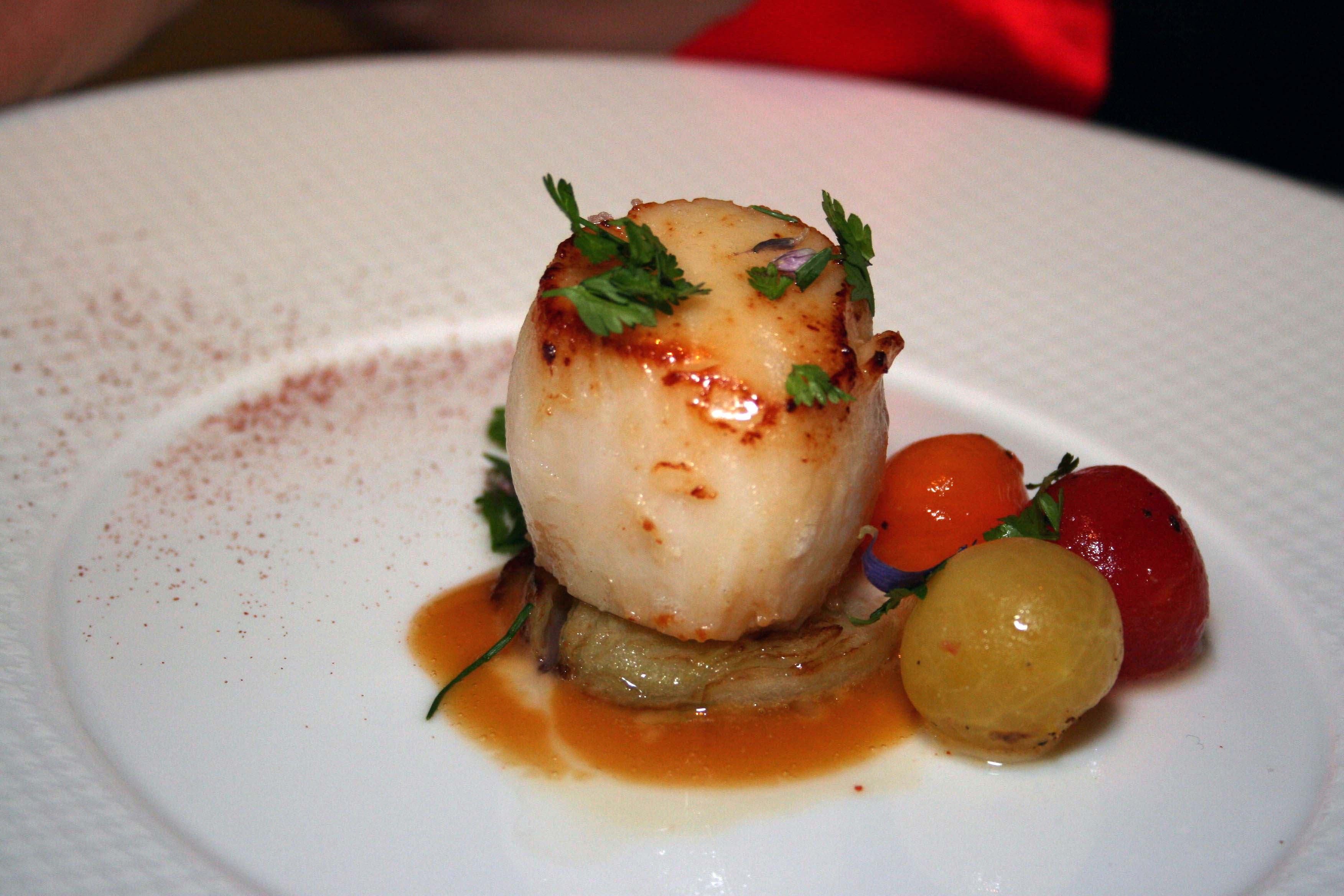 Wandalust online napa and sonoma cook a scallop tempts at the french laundry fandeluxe Gallery