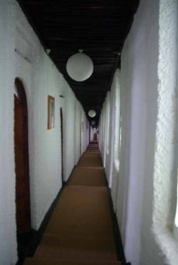 Interior BRC residential lodge.