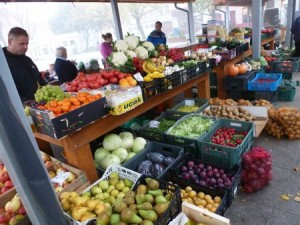 Chełmno market, Poland