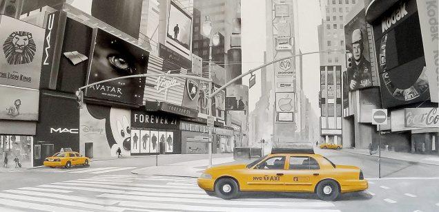 New York von der Malerei in Tirol