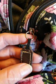 Original zipper pull on my purse