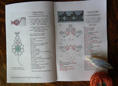 Putting all my tatting patterns together in one place 2 wandasknottythoughts