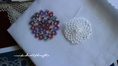 Tatting and Armenian Lace from Fox wandasknottythoughts