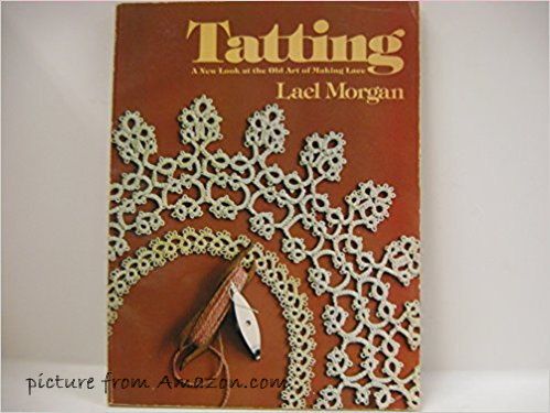 Tatting book by Lael Morgan on wandasknottythoughts