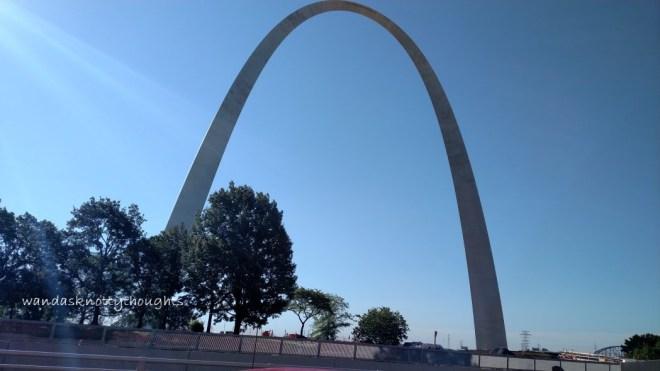 Gateway Arch in St. Louis, Missouri on wandasknottythoughts