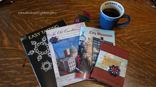 My goodies from our St. Louis vacation wandasknottythoughts