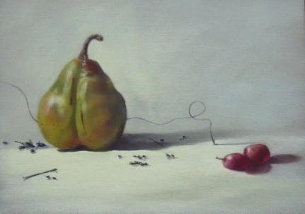 Green Pear (9x12) (SOLD)