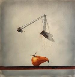 Balance (20x20 oil on canvas)