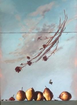 Wild Pears (36x24 oil on canvas)