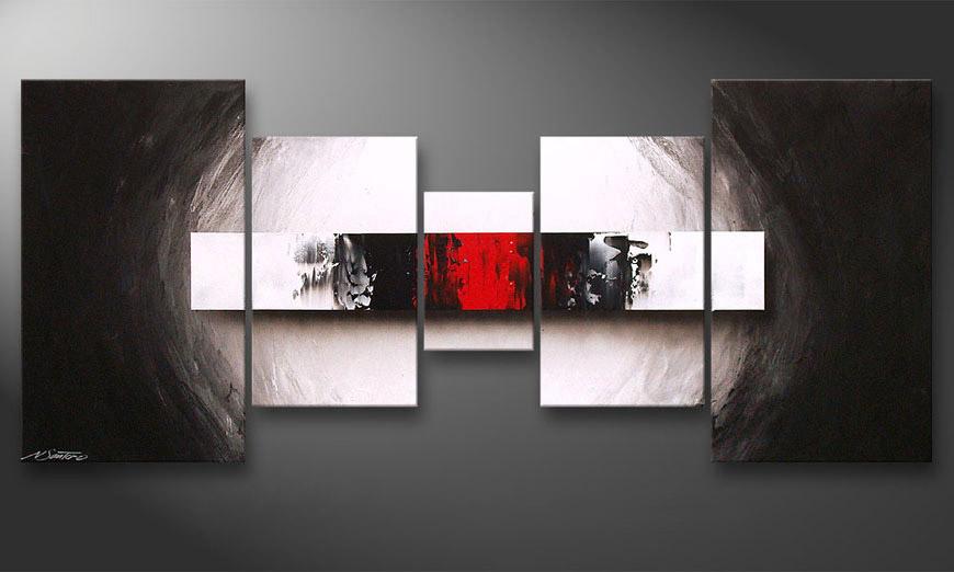 Das Wohnzimmerbild End of Contrast 160x70cm  Wandbilder XXL